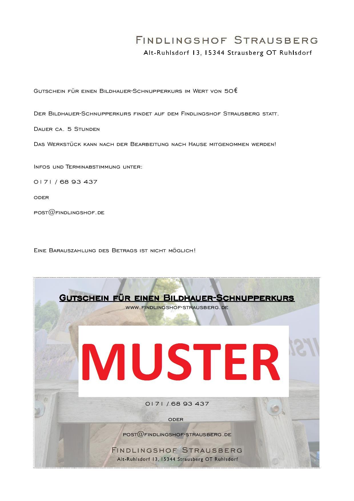 Gutschein_Bildhauer_Schnupperkurs
