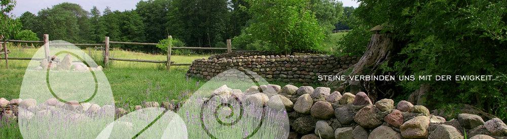 Steine verbinden uns mit der Ewigkeit
